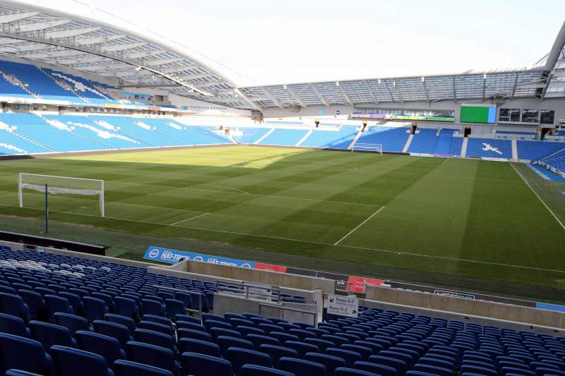Seating view for American Express Community Stadium Section N1C Row U