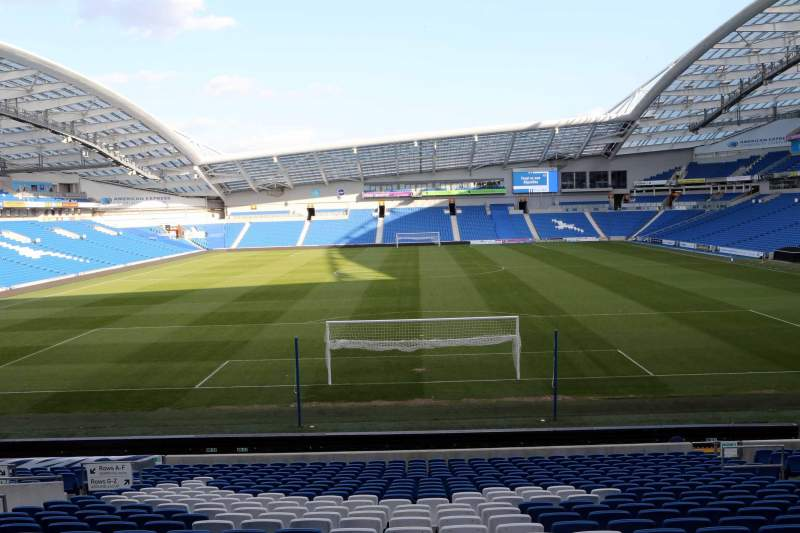 Seating view for American Express Community Stadium Section N1E Row T