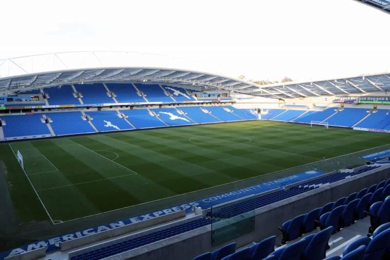 American Express Community Stadium, section: W2I, row: E