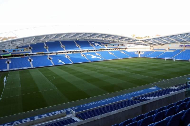 American Express Community Stadium, section: W2H, row: E