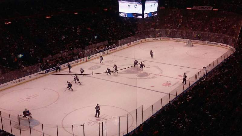 Seating view for Scottrade Center Section 325 Row B Seat 12
