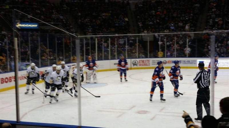 Seating view for Old Nassau Veterans Memorial Coliseum Section 118 Row f Seat 6