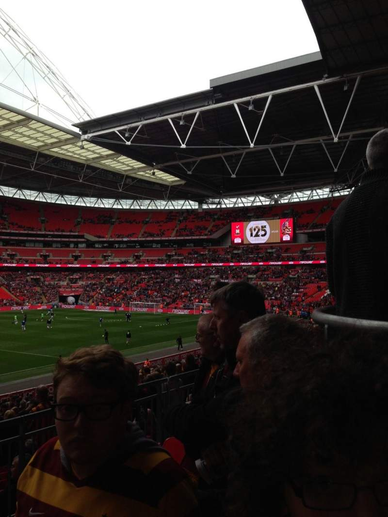 Seating view for Wembley Stadium Section 230 Row 50 Seat 222