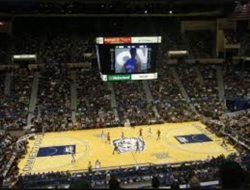 Seating view for XL Center Section 215