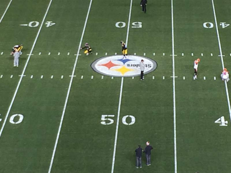 Seating view for Heinz Field Section 511 Row J Seat 19