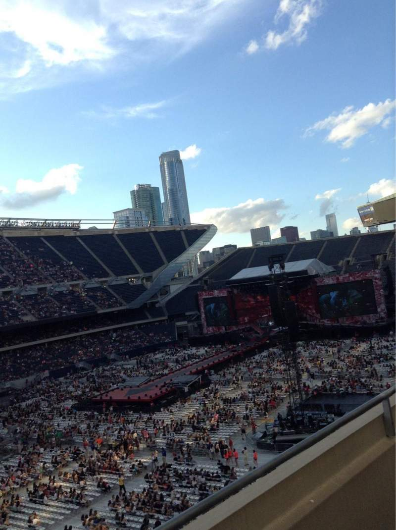 Seating view for Soldier Field Section 314 Row 2 Seat 2
