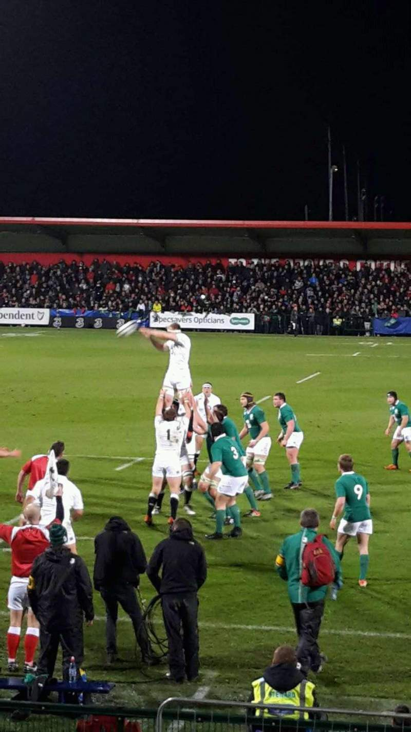 Seating view for Musgrave Park