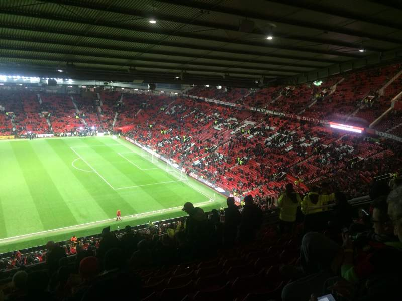 Seating view for Old Trafford Section N47 3402 North Stand Row 28 Seat 93