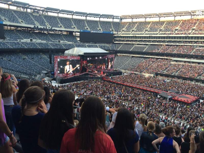 Seating view for MetLife Stadium Section 235 Row 13 Seat 13