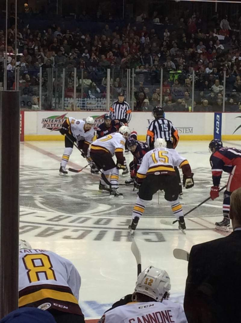 Seating view for Allstate Arena Section 111 Row A Seat 12