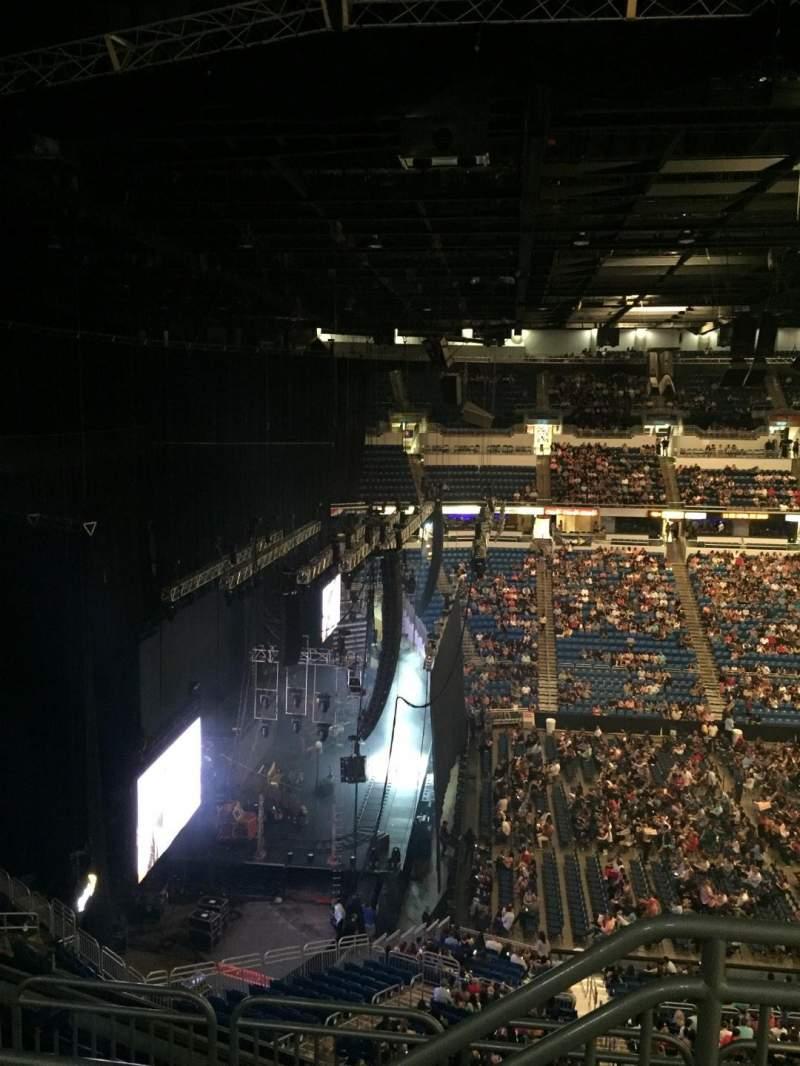 Coliseo De Puerto Rico, section: 213 U, row: M, seat: 1
