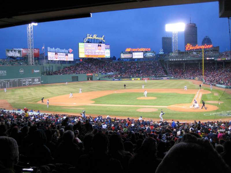 Seating view for Fenway Park Section Grandstand 24 Row 11 Seat 3