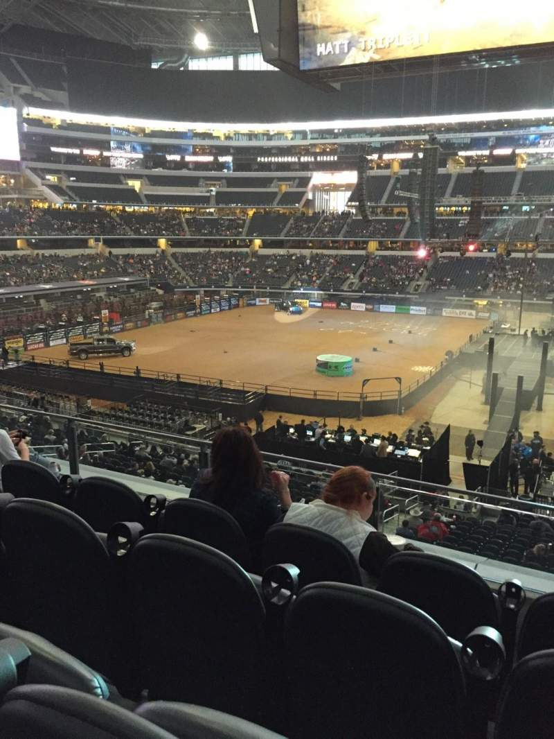 Seating view for AT&T Stadium Section C209 Row 4 Seat 11