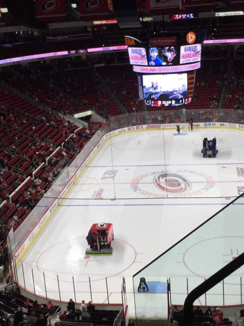 Seating view for PNC Arena Section 314 Row D Seat 2