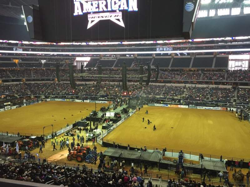 Seating view for AT&T Stadium Section C333 Row 1 Seat 20
