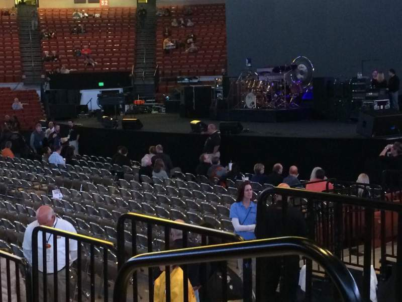 Seating view for Frank Erwin Center Section 49 Row 12 Seat 1,2