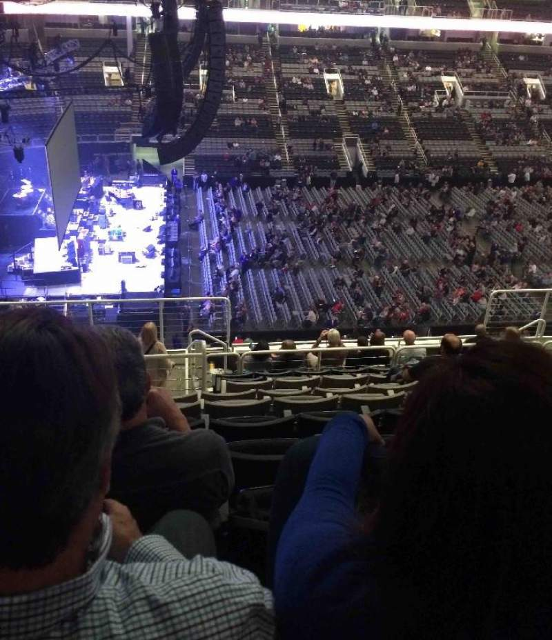 Seating view for SAP Center Section 216 Row 12 Seat 19