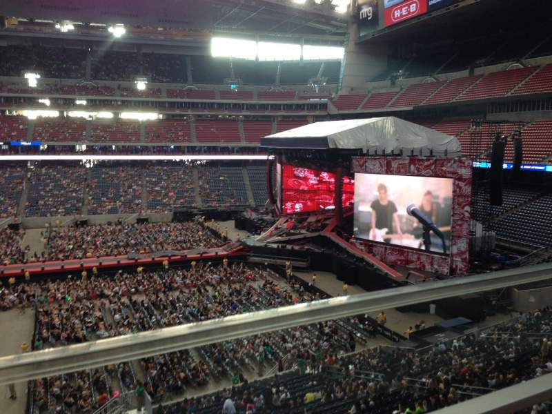 Seating view for NRG Stadium Section 335 Row G Seat 10