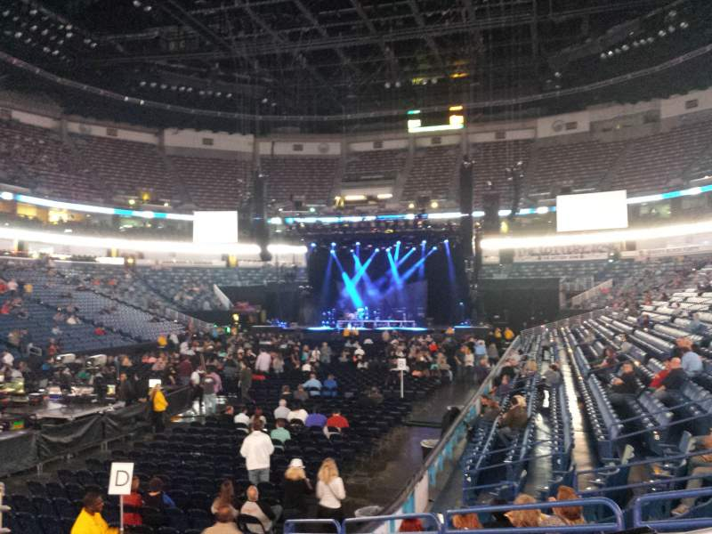 Seating view for Smoothie King Center Section 105 Row 14 Seat 1