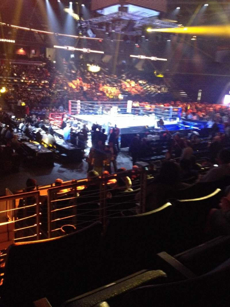 Seating view for Citizens Business Bank Arena Section 105 Row J Seat 16