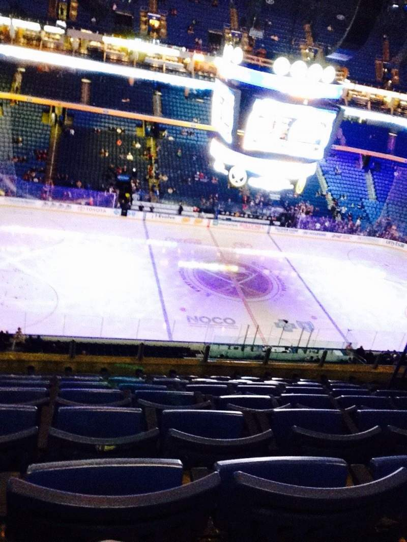 Seating view for KeyBank Center Section 321 Row 8 Seat 10