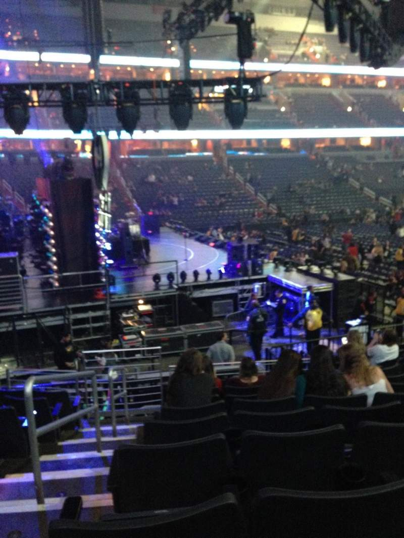 Seating view for Verizon Center Section 120 Row P Seat 1