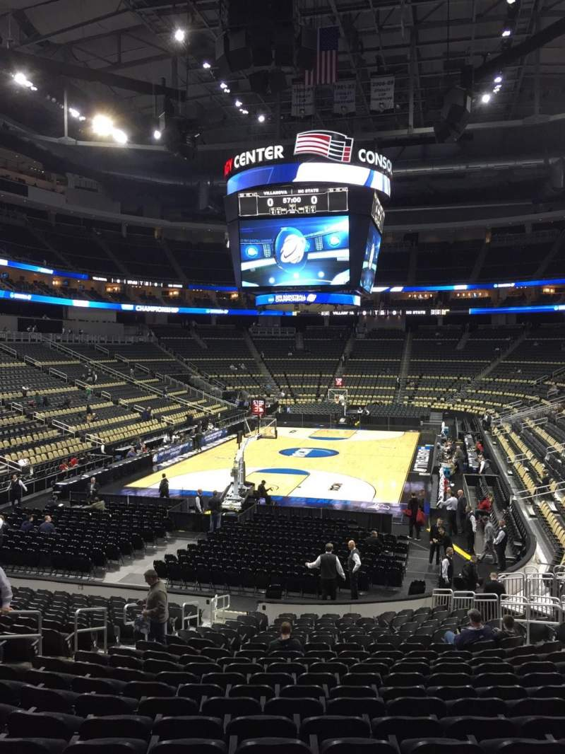 PPG Paints Arena, section: 106, row: U, seat: 15