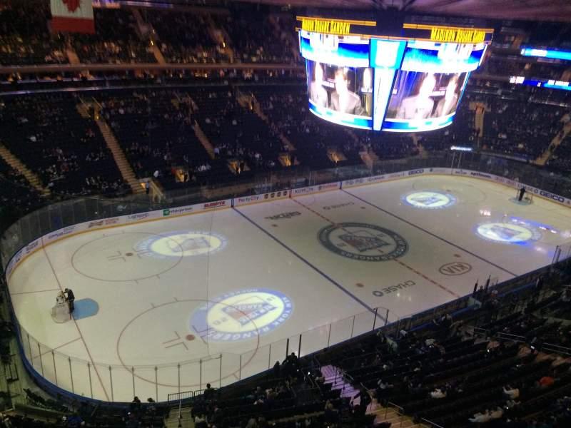 Madison Square Garden: Madison Square Garden, Section 310, Row 1, Seat 9
