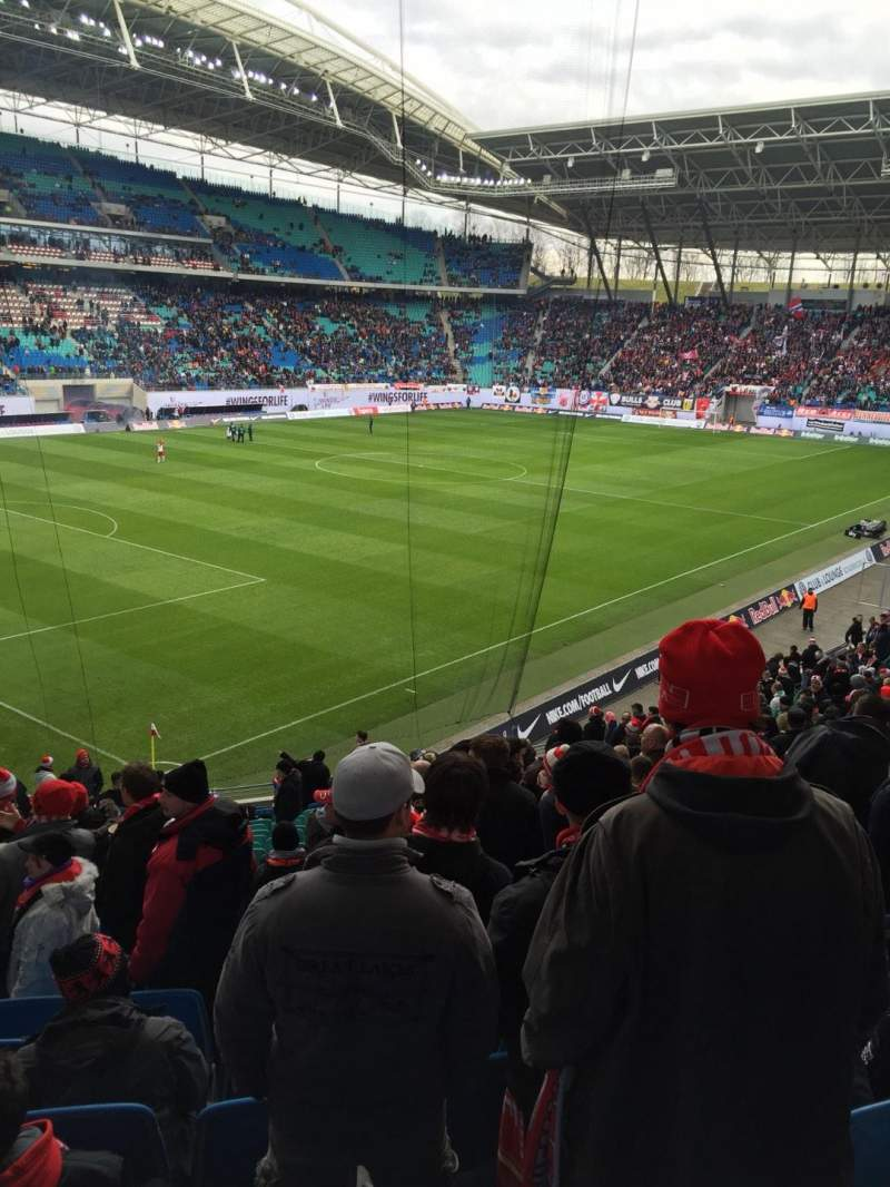 Seating view for Red Bull Arena (Leipzig) Section Gäste