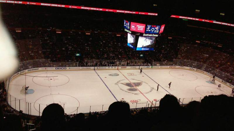 Seating view for Scottrade Center Section 322 Row N Seat 20