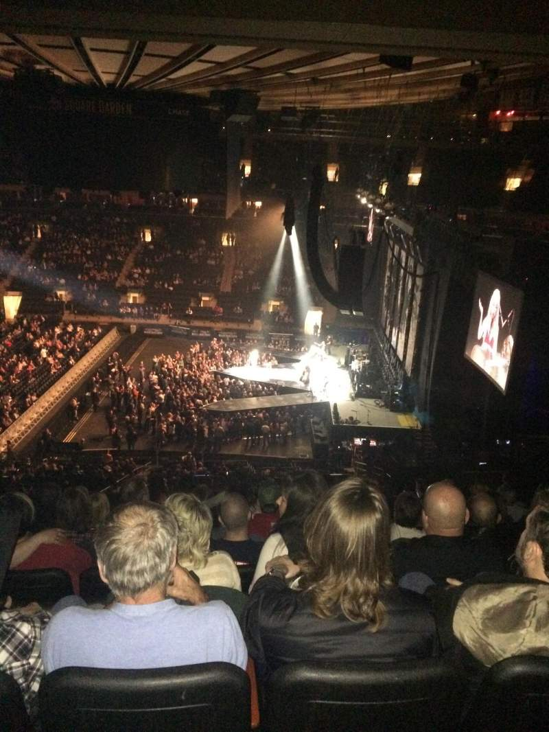 Madison Square Garden section 212 row 11 seat 10 Miranda Lambert