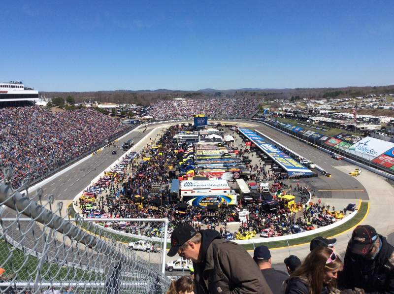 Seating view for Martinsville Speedway Section 205 Row 14 Seat 11