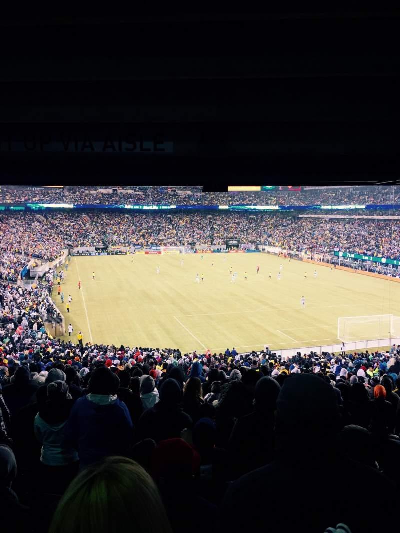 MetLife Stadium, section: 129, row: 48, seat: 5