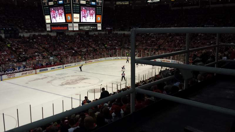 Seating view for Joe Louis Arena Section 211A Row 2 Seat 3