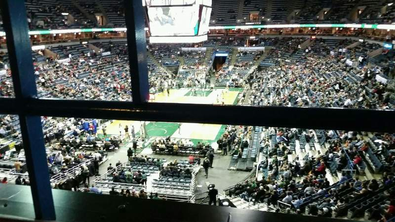 Seating view for BMO Harris Bradley Center Section 431 Row A Seat 13