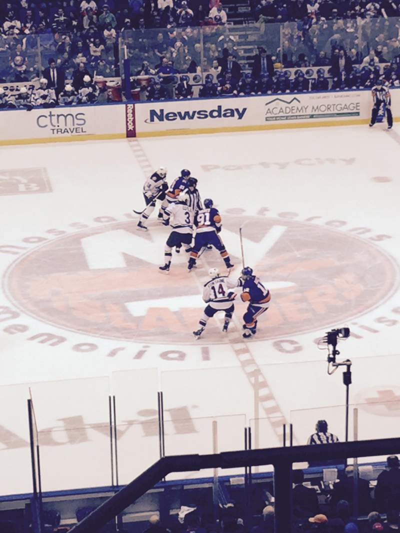 Seating view for Old Nassau Veterans Memorial Coliseum Section 304 Row E Seat 2