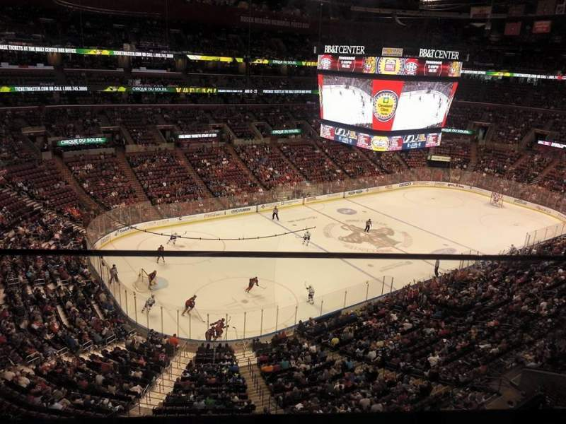 Seating view for BB&T Center Section 305 Row 1 Seat 9