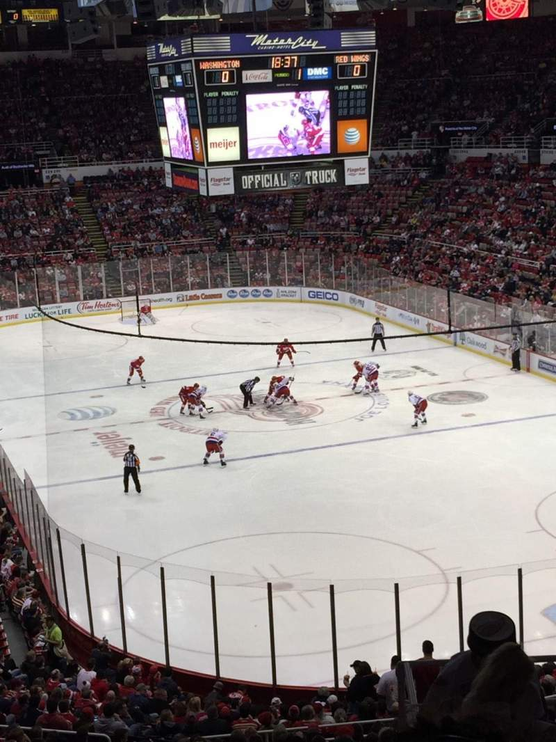 Seating view for Joe Louis Arena Section 216B Row 10 Seat 15