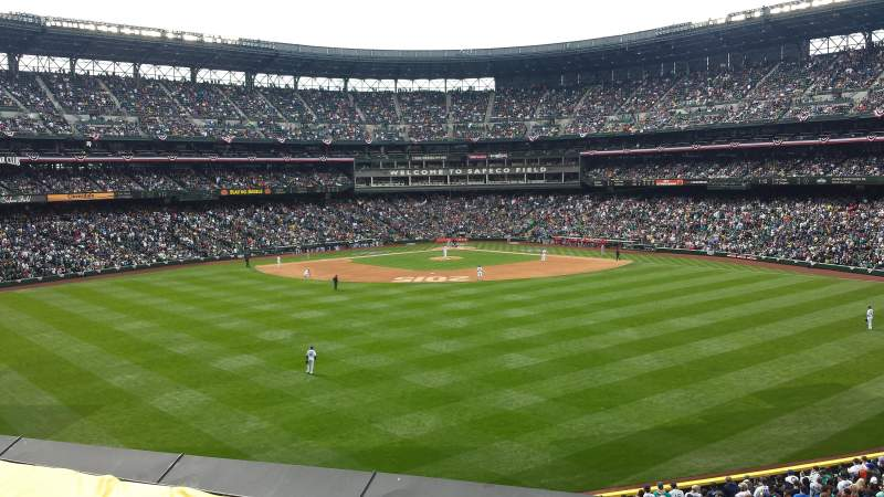 Seating view for Safeco Field Section 190 Row 2 Seat 11