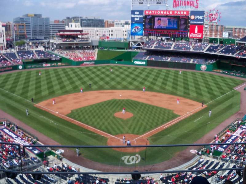 Seating view for Nationals Park Section 314 Row E Seat 10