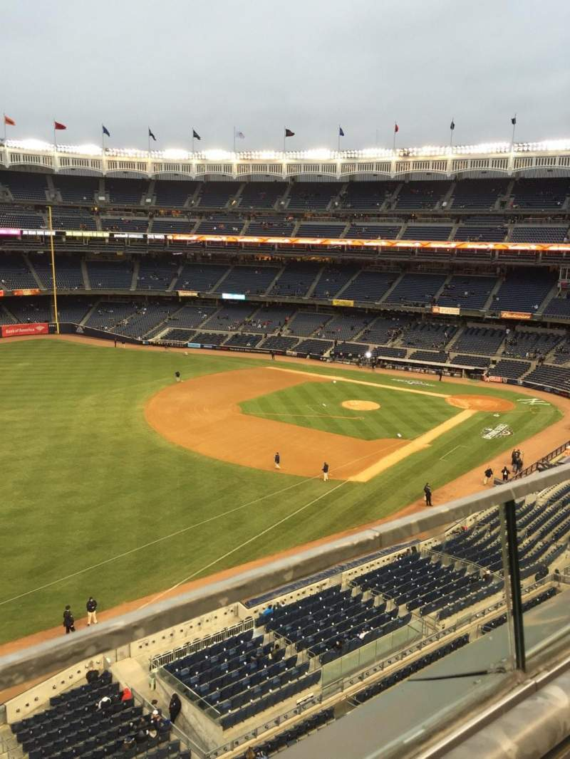 Seating view for Yankee Stadium Section 330 Row 1 Seat 13