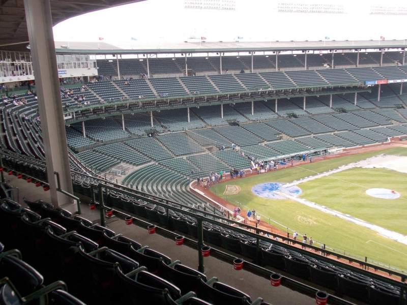 Seating view for Wrigley Field Section 530 Row 4 Seat 11