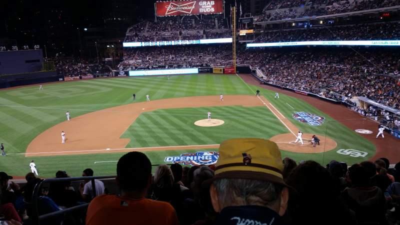 PETCO Park, section: TI206, row: 9, seat: 19