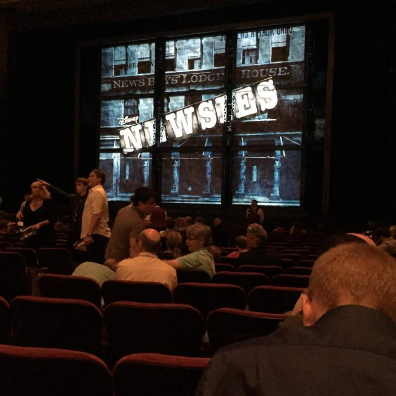 Seating view for Pantages Theatre (Hollywood) Section ORCRC Row R Seat 205