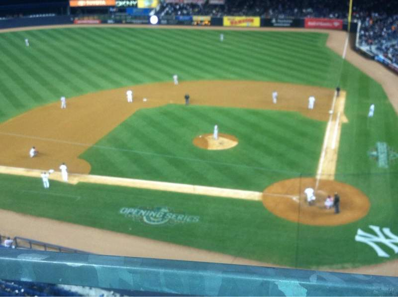Seating view for Yankee Stadium Section 322 Row 1 Seat 10