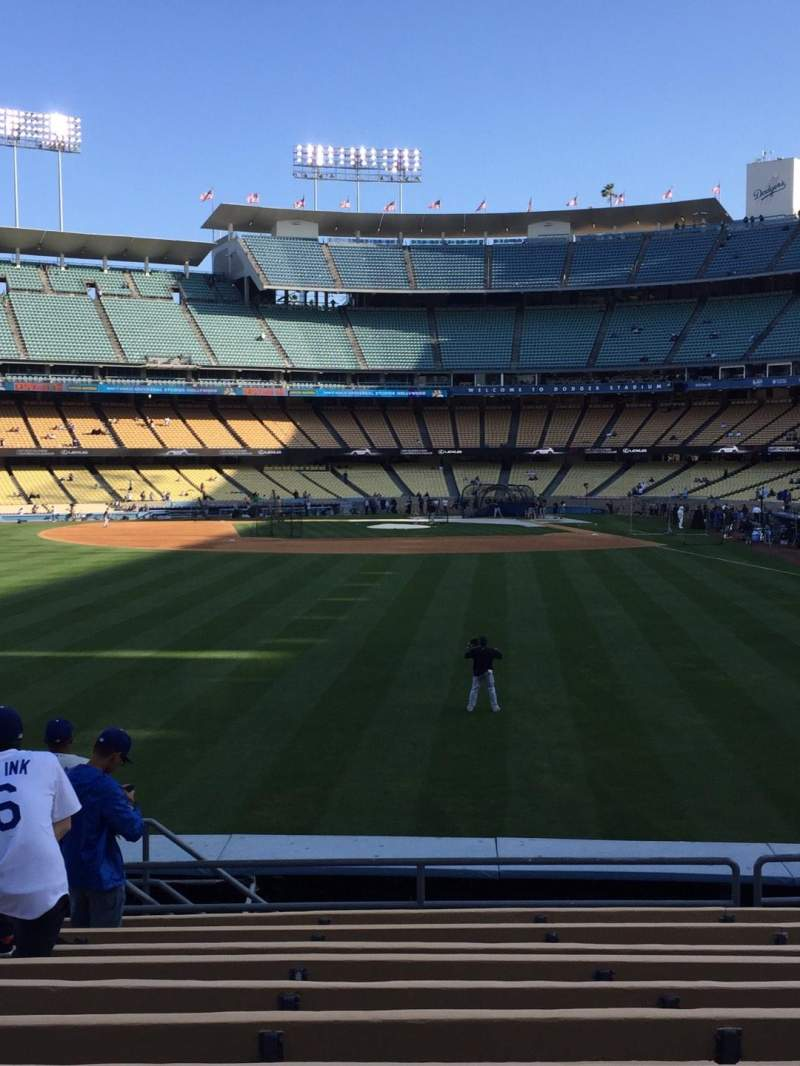 Seating view for Dodger Stadium Section 303PL Row L Seat 14