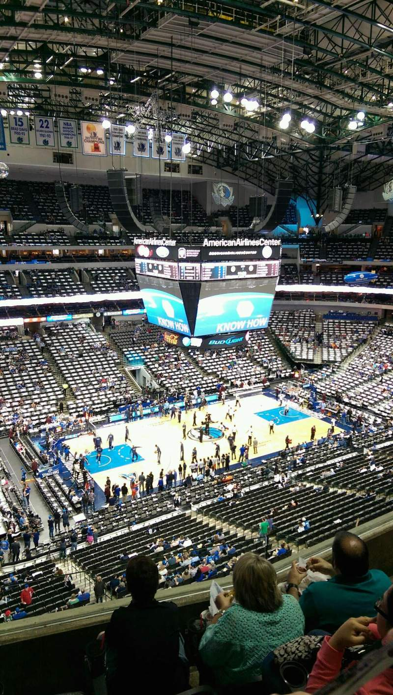 American Airlines Center Interactive Seating Chart