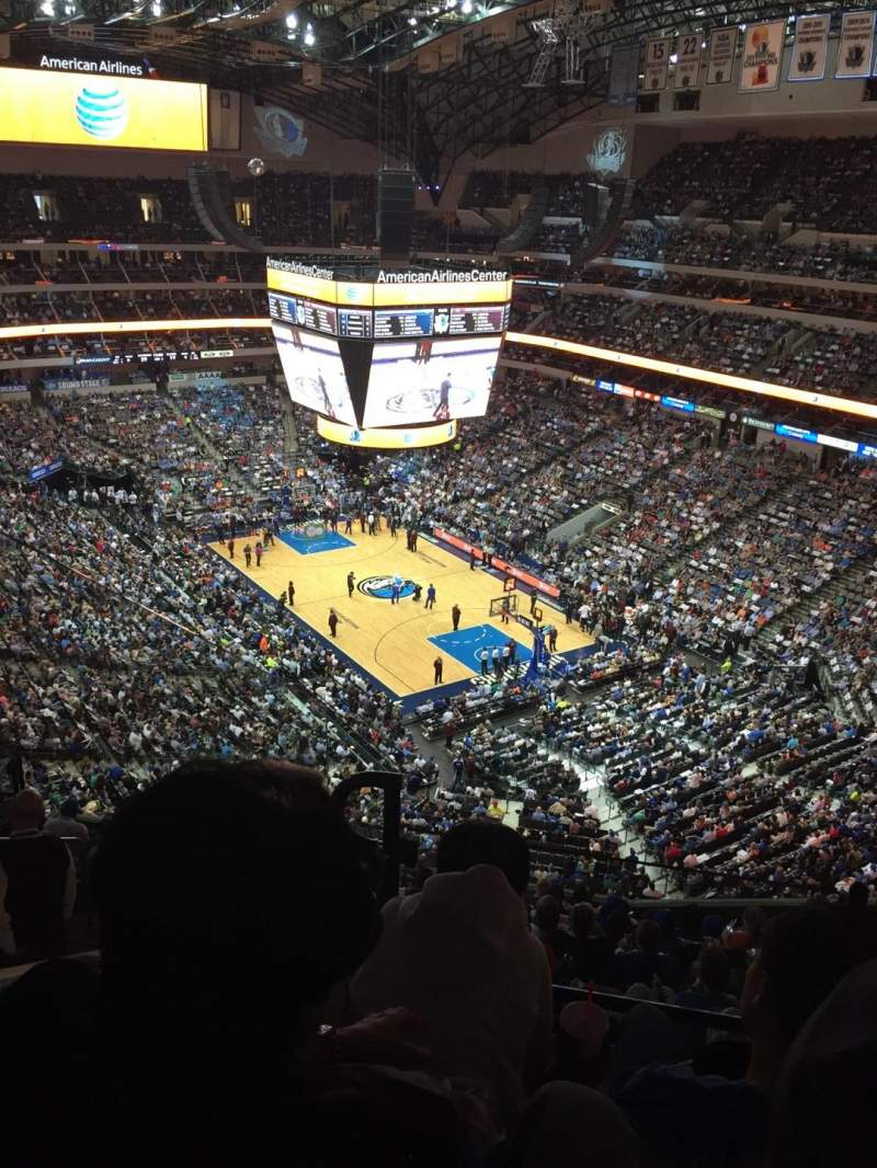 Seating view for American Airlines Center Section 304 Row J Seat 17