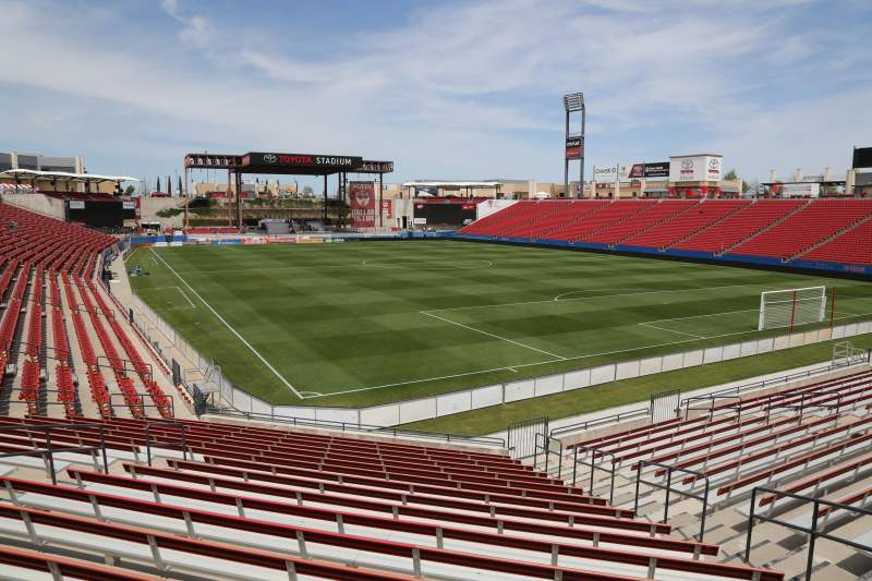 Seating view for Toyota Stadium Section 113 Row 20 Seat 10