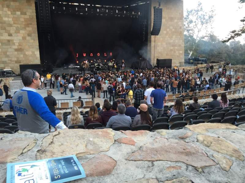 Seating view for Santa Barbara Bowl Section I Seat 6